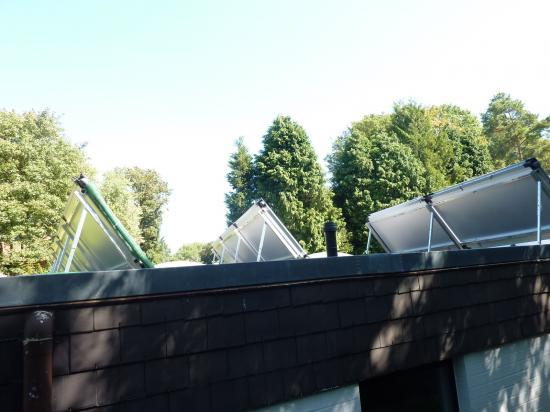Installation solaire pour appoint chauffage + piscine et production d'eau chaude des sanitaires