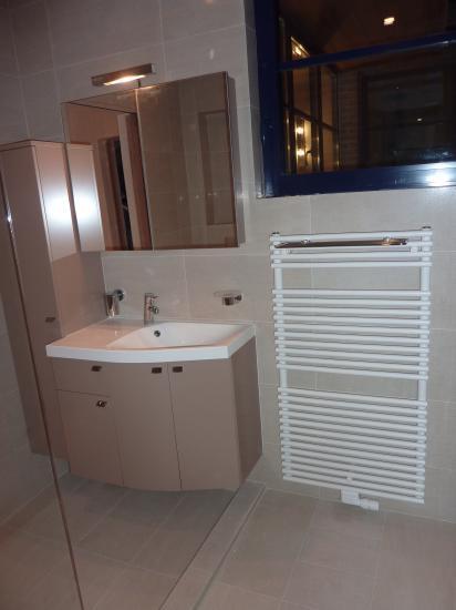 meuble lavabo petite salle de douche